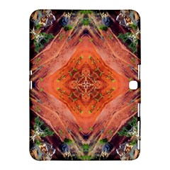 Boho Bohemian Hippie Floral Abstract Faded  Samsung Galaxy Tab 4 (10 1 ) Hardshell Case  by CrypticFragmentsDesign