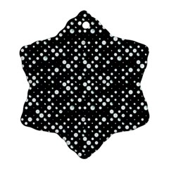 Galaxy Dots Snowflake Ornament (2 Side) by dflcprints