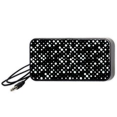 Galaxy Dots Portable Speaker (black)  by dflcprints