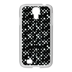 Galaxy Dots Samsung Galaxy S4 I9500/ I9505 Case (white) by dflcprints