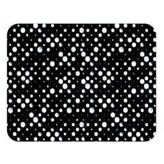 Galaxy Dots Double Sided Flano Blanket (large)  by dflcprints