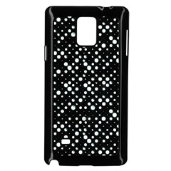 Galaxy Dots Samsung Galaxy Note 4 Case (black)