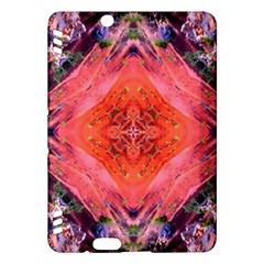 Boho Bohemian Hippie Retro Tie Dye Summer Flower Garden design Kindle Fire HDX Hardshell Case by CrypticFragmentsDesign