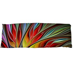 Fractal Bird Of Paradise Body Pillow Case Dakimakura (two Sides) by WolfepawFractals