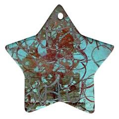 Urban Graffiti Grunge Look Star Ornament (two Sides)  by CrypticFragmentsDesign