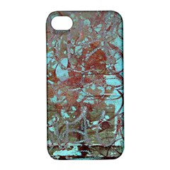 Urban Graffiti Grunge Look Apple Iphone 4/4s Hardshell Case With Stand by CrypticFragmentsDesign