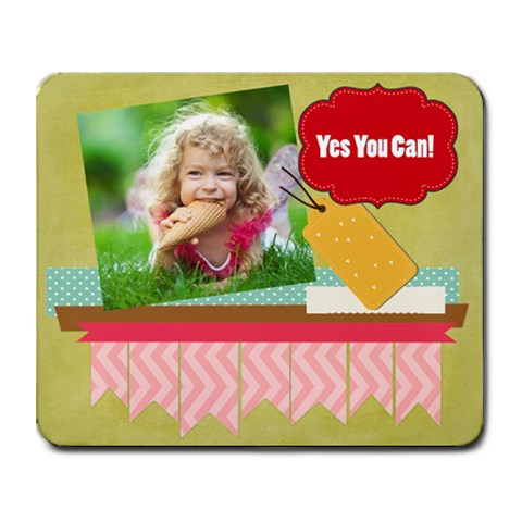 Kids By Kids   Collage Mousepad   Vxhrtrkelw5s   Www Artscow Com 9.25 x7.75 Mousepad - 1