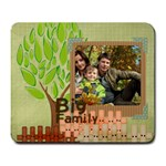 family - Large Mousepad