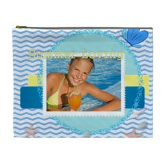 Summer By Summer Time    Cosmetic Bag (xl)   Y3x6l1zl3r90   Www Artscow Com Front