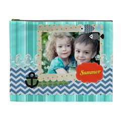Summer By Summer Time    Cosmetic Bag (xl)   0ladjzxhu5jw   Www Artscow Com Front