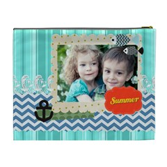 Summer By Summer Time    Cosmetic Bag (xl)   0ladjzxhu5jw   Www Artscow Com Back