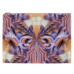 Fire Goddess Abstract Modern Digital Art  Cosmetic Bag (xxl)  by CrypticFragmentsDesign