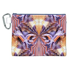 Fire Goddess Abstract Modern Digital Art  Canvas Cosmetic Bag (XXL)  by CrypticFragmentsDesign
