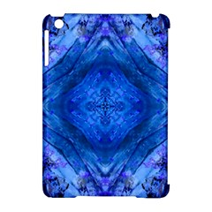 Boho Bohemian Hippie Tie Dye Cobalt Apple Ipad Mini Hardshell Case (compatible With Smart Cover) by CrypticFragmentsDesign