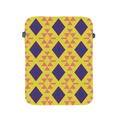 Tribal Shapes And Rhombus Pattern                        apple Ipad 2/3/4 Protective Soft Case by LalyLauraFLM