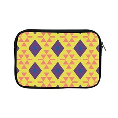 Tribal shapes and rhombus pattern                        			Apple iPad Mini Zipper Case by LalyLauraFLM