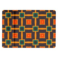 Connected Shapes In Retro Colors                         			samsung Galaxy Tab 10 1  P7500 Flip Case by LalyLauraFLM