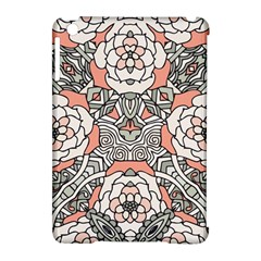 Petals In Vintage Pink, Bold Flower Design Apple Ipad Mini Hardshell Case (compatible With Smart Cover) by Zandiepants