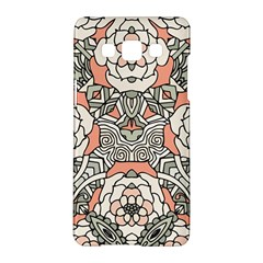 Petals In Vintage Pink, Bold Flower Design Samsung Galaxy A5 Hardshell Case  by Zandiepants