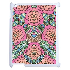 Petals, Carnival, Bold Flower Design Apple Ipad 2 Case (white) by Zandiepants