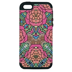 Petals, Carnival, Bold Flower Design Apple Iphone 5 Hardshell Case (pc+silicone) by Zandiepants