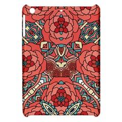 Petals In Pale Rose, Bold Flower Design Apple Ipad Mini Hardshell Case by Zandiepants