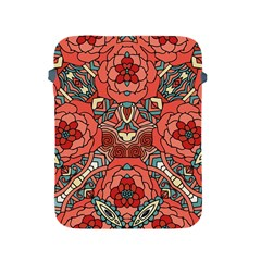 Petals In Pale Rose, Bold Flower Design Apple Ipad 2/3/4 Protective Soft Case by Zandiepants
