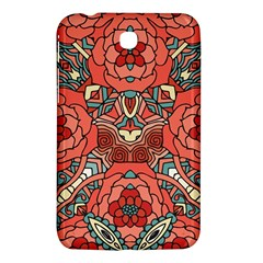 Petals In Pale Rose, Bold Flower Design Samsung Galaxy Tab 3 (7 ) P3200 Hardshell Case  by Zandiepants