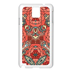 Petals In Pale Rose, Bold Flower Design Samsung Galaxy Note 3 N9005 Case (white) by Zandiepants