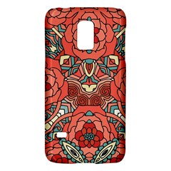 Petals In Pale Rose, Bold Flower Design Samsung Galaxy S5 Mini Hardshell Case  by Zandiepants
