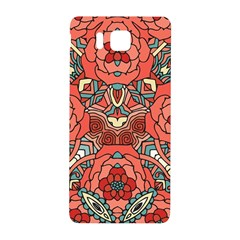 Petals In Pale Rose, Bold Flower Design Samsung Galaxy Alpha Hardshell Back Case by Zandiepants