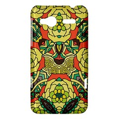 Petals, Retro Yellow, Bold Flower Design HTC Radar Hardshell Case  by Zandiepants