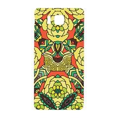 Petals, Retro Yellow, Bold Flower Design Samsung Galaxy Alpha Hardshell Back Case by Zandiepants
