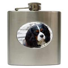 Cavalier King Charles Spaniel 2 Hip Flask (6 oz) by TailWags