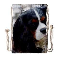Cavalier King Charles Spaniel 2 Drawstring Bag (Large) by TailWags