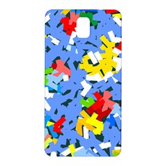 Rectangles Mix                          			samsung Galaxy Note 3 N9005 Hardshell Back Case by LalyLauraFLM