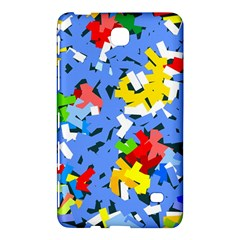 Rectangles Mix                          			samsung Galaxy Tab 4 (7 ) Hardshell Case by LalyLauraFLM