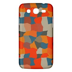 Retro Colors Distorted Shapes                           			samsung Galaxy Mega 5 8 I9152 Hardshell Case by LalyLauraFLM