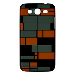 Rectangles In Retro Colors                              samsung Galaxy Mega 5 8 I9152 Hardshell Case by LalyLauraFLM