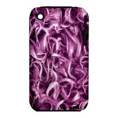 Textured Abstract Print Apple Iphone 3g/3gs Hardshell Case (pc+silicone) by dflcprints