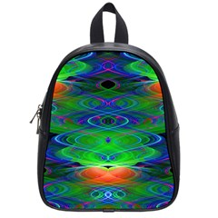 Neon Night Dance Party School Bags (small)  by CrypticFragmentsDesign