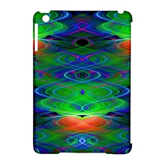Neon Night Dance Party Apple Ipad Mini Hardshell Case (compatible With Smart Cover) by CrypticFragmentsDesign