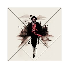 Leatherface 1974 Acrylic Tangram Puzzle (6  X 6 ) by lvbart