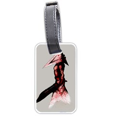 Pyramid Head Drippy Luggage Tags (two Sides) by lvbart