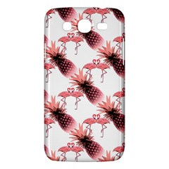 Flamingo Pineapple Tropical Pink Pattern Samsung Galaxy Mega 5 8 I9152 Hardshell Case  by CrypticFragmentsColors