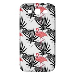 Flamingos Palmetto Fronds Tropical Pattern Samsung Galaxy Mega 5 8 I9152 Hardshell Case  by CrypticFragmentsColors