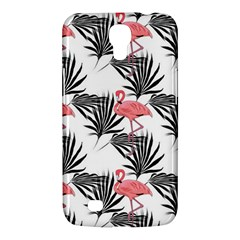Flamingos Palmetto Fronds Tropical Pattern Samsung Galaxy Mega 6 3  I9200 Hardshell Case by CrypticFragmentsColors