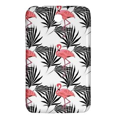 Flamingos Palmetto Fronds Tropical Pattern Samsung Galaxy Tab 3 (7 ) P3200 Hardshell Case  by CrypticFragmentsColors