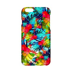 Watercolor Tropical Leaves Pattern Apple Iphone 6/6s Hardshell Case by TastefulDesigns