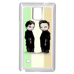 Plushie Saints 2.0 Samsung Galaxy Note 4 Case (White) by lvbart